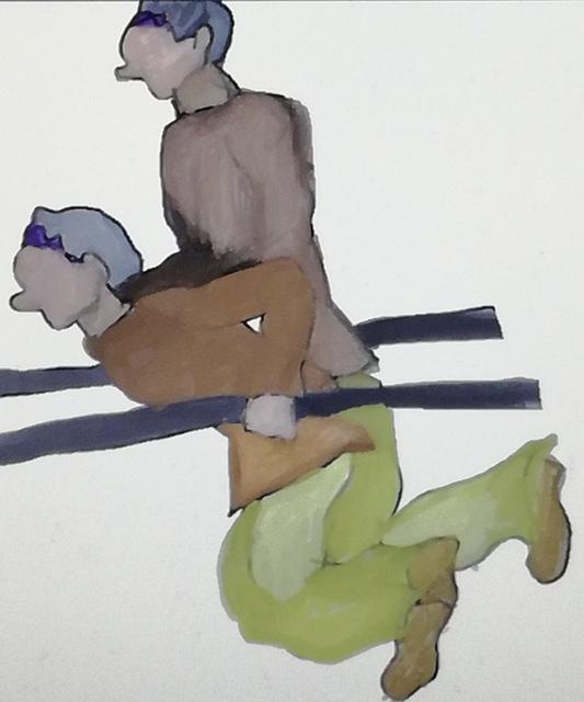 ディップスと同じように筋肉の連動を意識しながら車椅子を漕ぐ事で関節へのダメージを軽減出来る